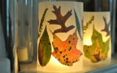 How to Make Your Own Leaf Lantern